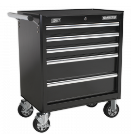Rollcab 5 Drawer with Ball Bearing Slides