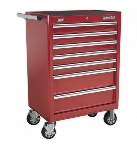 Rollcab 7 Drawer with Ball Bearing Slide