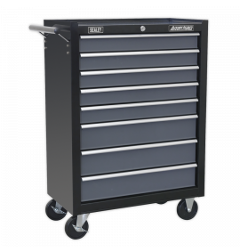 Rollcab 8 Drawer with Ball Bearing Slides