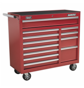 Rollcab 12 Drawer with Ball Bearing Slides Heavy-Duty