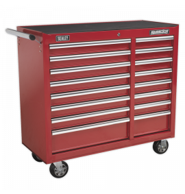 Rollcab 16 Drawer with Ball Bearing Slides Heavy-Duty