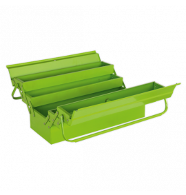Cantilever Toolbox 4 Tray 530mm Hi-Vis Green