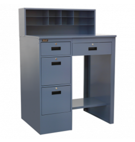 Industrial Workstation with 4 Drawers