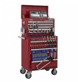 Topchest & Rollcab Combination 10 Drawer with Ball Bearing Slides