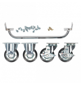 Industrial Handle and Wheel Kit for 565mm Cabinets