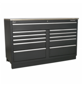 Modular Floor Cabinet 11 Drawer 1550mm Heavy-Duty