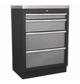 Modular 4 Drawer Cabinet 680mm