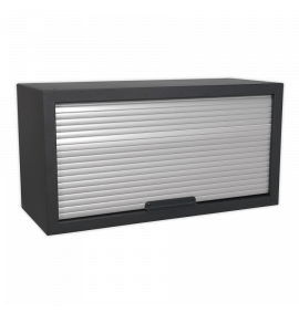 Modular Wall Cabinet Tambour Front 680mm