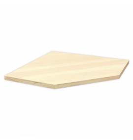 Pressed Wood Worktop for Modular Corner Cabinet 865mm