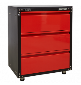 665mm Modular 3 Drawer Cabinet with Worktop