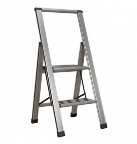 Aluminium Professional Folding Step Ladders 150kg Capacity
