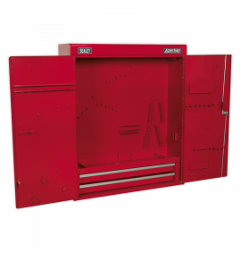 Wall Mounting Tool Cabinet with 2 Drawers