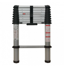 Aluminium Telescopic Ladder 9-Tread EN 131