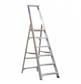 Aluminium Step Ladders Industrial BS 2037/1