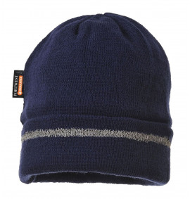 Portwest Reflective Trim Knit Hat Thinsulate Lined