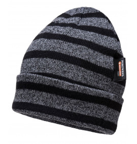 Portwest Striped Insulated Knit Cap Insulatex Lined