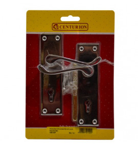 140mm CP Victorian Scroll Lever Lock Handle