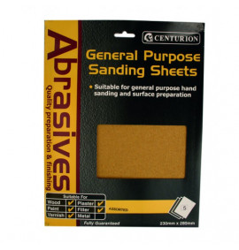 Assorted Sandpaper (Pack Of 5)