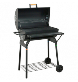 Charcoal Barrel Type BBQ