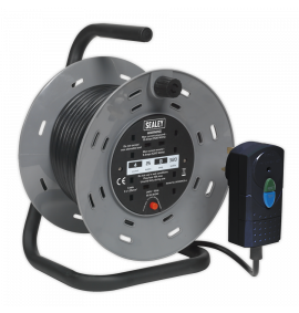 Cable Reel with RCD Plug