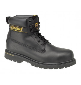 Caterpillar Black Holton Safety Boot