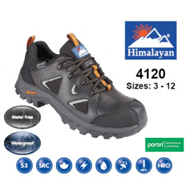 Himalayan Black Gravity Waterproof Hiker Shoe