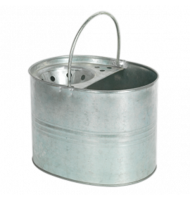 Mop Bucket 13ltr - Galvanized