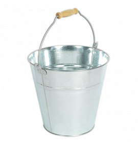 Bucket 14ltr - Galvanized