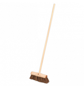 "Broom 13""(325mm) Stiff/Hard Bristle"