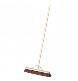 "Broom 24""(600mm) Stiff/Hard Bristle"