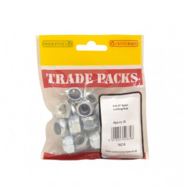 Nylon Locking Nuts ZP - M10 (20 PK)