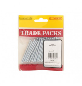Masonry Nails - 60mm (40 PK)