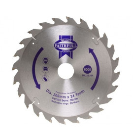 Faithfull Circular Saw Blade TCT