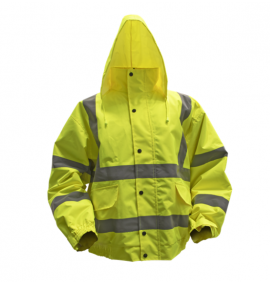 Sealey Hi-Vis Jacket with Quilted Lining & Elasticated Waist