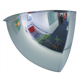 Hemispheric Corner Security Surveillance Mirrors for Indoor Use
