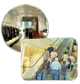 Large Format Security Surveillance Mirrors for Indoor Use