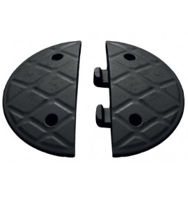 5cm End Caps Black (Pair)