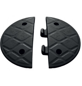 7.5cm End Caps Black (Pair)