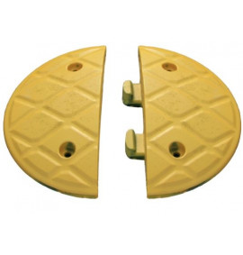7.5cm End Caps Yellow (Pair)