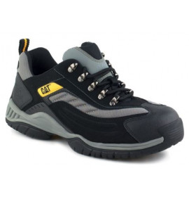 Caterpillar Black/Silver Moor Safety Trainer