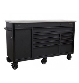 Mobile Tool Cabinet 1600mm with Power Tool Charging Drawer