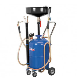 35L Air Discharge Mobile Oil Drainer with Probes