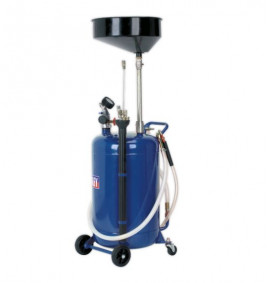 90L Air Discharge Mobile Oil Drainer with Probes