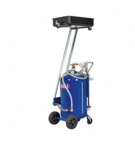 80L Cantilever Air Discharge Mobile Oil Drainer with Probes
