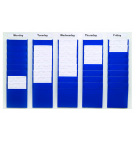 Cascading Document Display Racks