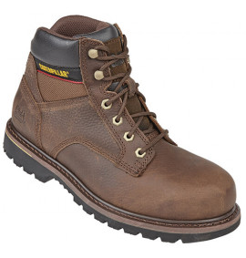 Caterpillar Tracker Safety Boot Brown