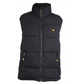 Caterpillar Body Warmer / Quilted Insulated Vest