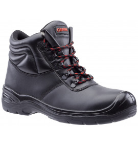 Centek Water Resistant Black Leather Safety Boot