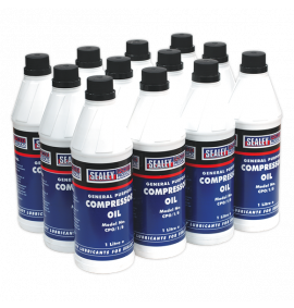 Compressor Oil 1L (Pack of 12)