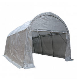 Dome Roof Car Port Shelter 4 x 6 x 3.1m